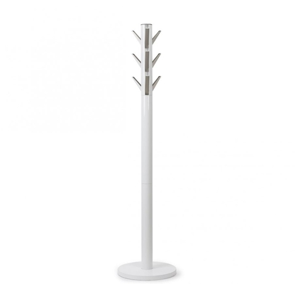 FLAPPER COAT RACK WHITE