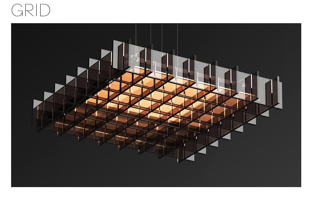 Pablo Grid Pendant